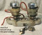 chevrolet-parts-twin-carb-set